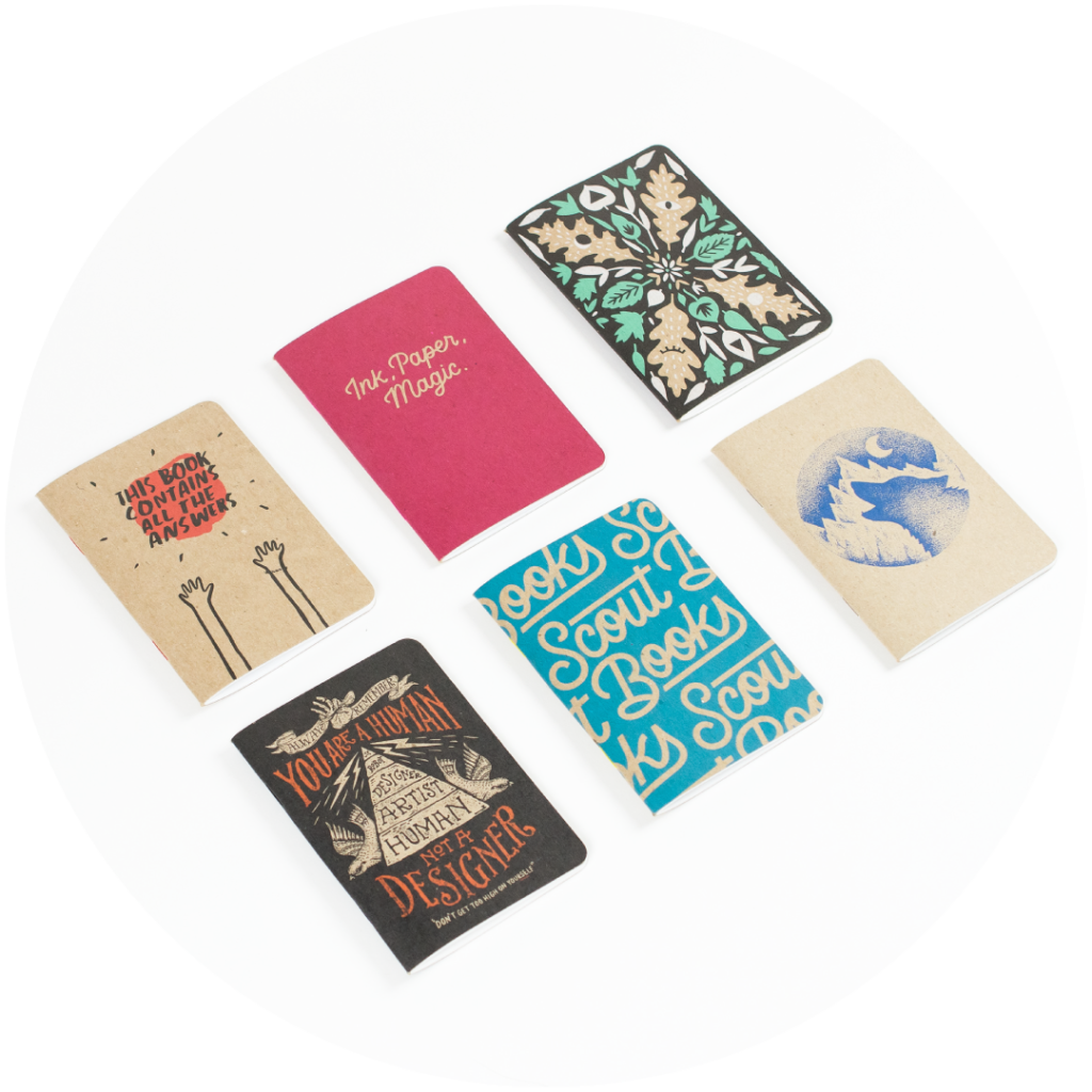 Sample Pack Scout Books